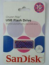SanDisk Cruzer Pop USB 2.0 Flash Drive - 16GB - NEW!!