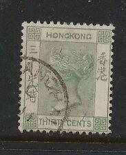 Hong  Kong   47a     used       catalog $45.00       KEL0707