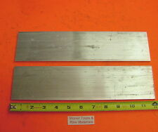 "2 Pieces 1/8"" X 3"" ALUMINUM 6061 FLAT BAR 12"" long T6511 New Mill Stock .125""x 3"