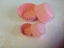 SET of MINI & STANDARD size paper muffin / cup cake cases - various colours