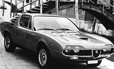 1971 Alfa Romeo Montreal Factory Photo J6733
