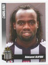 N°110 ADEKANMI OLUFADE # TOGO SPORTING CHARLEROI STICKER PANINI FOOTBALL 2011