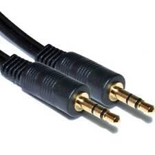 2.5M 3.5mm conector jack para conectar macho Cable-Plomo de audio para auriculares/Aux/MP3/Ipod