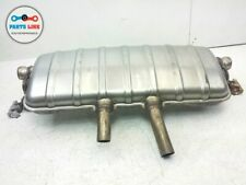 2011-2014 PORSCHE CAYENNE 958 EXHAUST MUFFLER BAFFLE W/O SPORT PACKAGE ASSEMBLY