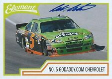 MARK MARTIN AUTOGRAPHED 2011 WHEELS ELEMENT RACING NASCAR PHOTO TRADING CARD #39