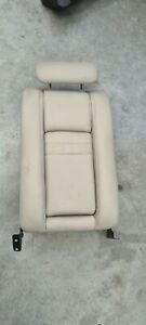 HOLDEN WH CAPRICE CREAM LEATHER REAR SEAT UPRIGHT WITH CENTER ARM REST 1999-2002