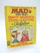 Al Jaffee Compendium of MAD's Very Best Snappy Answers to Stupid Questions