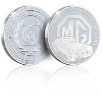 Classic Car Memorabilia British Motor Heritage Silver Coin - MGB - GT