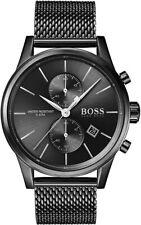 HUGO BOSS Quartz Jet Black Mens Chronograph Analogue Wrist Watch 1513769 £309