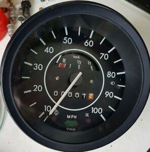 VW Käfer 1303 MpH Tacho mit 100 Meterzähler ohne EGR Leuchte komplett überholt