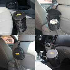 Car Vehicle Garbage Can Trash for Folding Mini Case Holder Box Rubbish Hanging