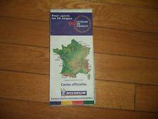 Carte Michelin 989 sponsorisé Tour de France 1999