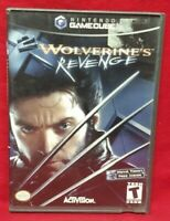 X2: Wolverine's Revenge Nintendo GameCube  Working Game Complete