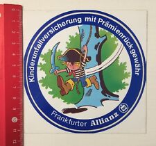 Aufkleber/Sticker: Frankfurter Allianz - Kinderunfallversicherung (120516137)