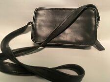Coach Swingpack Legacy Black Leather CrossBody Bag Purse  #9167, Vintage