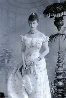 NEW Postcard Queen Mary as Princess Victoria Mary of Teck prior wedding 1893 DZ4
