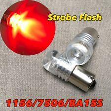 2X 1156 BA15S 3497 67 Amber Chrome Bulb Reverse Backup Light W1 For GM A