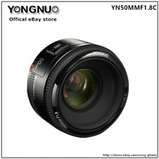 Yongnuo YN EF 50mm F1.8 , AF/MF Lens for Canon EOS Rebel Camera