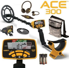 Garrett Ace 300 Metal Detector with Headphones, Coil & Rain Cover, Diggers Pouch