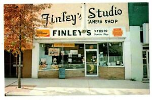 GA Georgia Dalton Finley's Studio Camera Kodak Shop Whitfield County Postcard