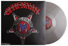 GEHENNAH - METAL POLICE, SILVER/BLACK MARBLED vinyl LP, 333 COPIES! SEALED!