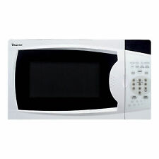 Magic Chef MCM770W Microwave Oven 700-Watt Countertop Digital Touch White