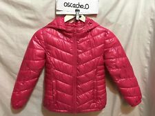 Kid's Tammy Hooded Insulated Puffa Jacket Pink Size 7-8 Years