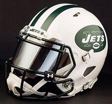 ***CUSTOM*** NEW YORK JETS Full Size NFL Riddell SPEED Football Helmet