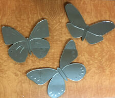 Pottery Barn Kids Fluttering Spotted Soaring Butterfly Mirrors Set of 3 Retired