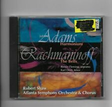 John Adams Harmonium; Rachmaninov The Bells CD Robert Shaw