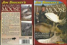 Jim Shockey Magnum Moose Hunting in Yukon DVD NEW Ships Out Fast