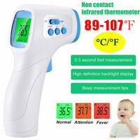 Infrared Thermometer LCD Laser Temperature Gun Non-contact Digital IR Meter