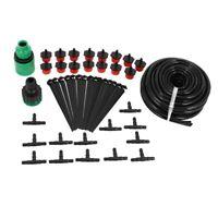 Micro-Flow Drip Wate Irrigation Kits System Self Plant Garden Hose Wate Kit Z9Q8