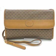 Gucci Shoulder Bag GG Light Brown PVC 1504748