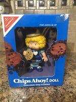 Talbot Toys Nabisco Chips Ahoy!  Cookie Doll Chocolate Chip Cookies 1983