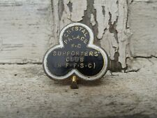 More details for rare vintage crystal palace fc football club supporters club badge h.w miller