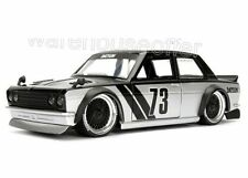 Jada Toys 1/24 Display Metals JDM Tuners 1973 Datsun 510 Widebody Diecast Car BK
