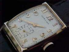 All Original 1952 Hamilton Turner solid 10 KT Gold Just Serviced W/ Dedication