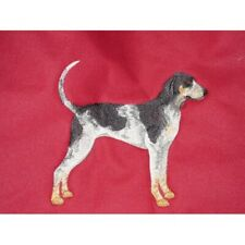 Embroidered Short-Sleeved T-Shirt - Bluetick Coonhound C9622 Sizes S - Xxl