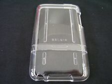 BELKIN IPOD TOUCH 2G CLEAR ACRYLIC PLASTIC CASE COVER F8Z368 SLEEVE POUCH FORMED