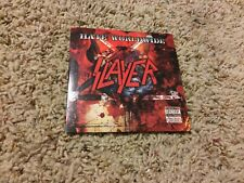 SLAYER - HATE WORLDWIDE [2009] RARE USA 1 TRACK CD SINGLE