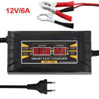Intelligentes Batterieladegerät 6V / 12V 120Ah Batterieerhaltungsgerät PKW Auto