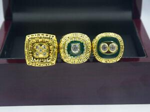 3 Ring 1972 1973 1984 Miami Dolphins World Championship Ring --/