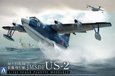 J.S.M.D.F Distress Flight Sea Boat US-2 1/144 Aoshima