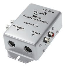Dynavox Phono Preamplifier TC-4 for mm Pickup Silver (206008) Nip