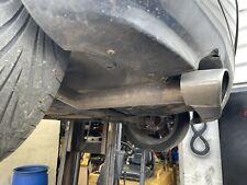 "Seat Ibiza Cupra 6k2 Mk3 1.8t Custom Catback Exhaust System. 2.5"" 99-02 20vt"