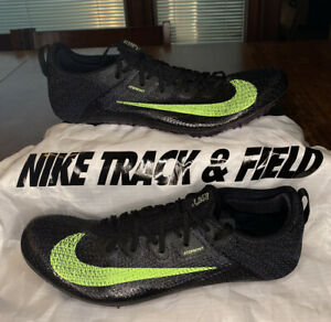 Nike Zoom Superfly Elite 2 Track Spikes Atomknit CD4382-100 Rare Men's Size 11