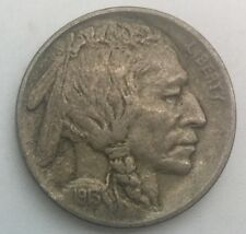 1913 D Type 1   Buffalo  Nickel  Nice Coin Strong Full Devices Most Pleasing