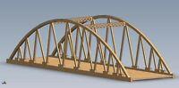 00 Gauge 870mm Span Twin Bowstring Tavy Railway Bridge