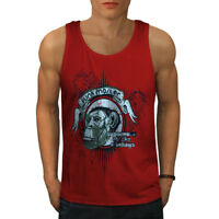 Wellcoda Funk Master Ape Mens Tank Top, Supreme Active Sports Shirt